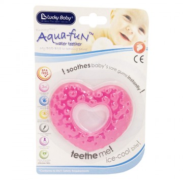 Discovery Pals™ Aqua Fun™ Teether - A (Happy Heart)