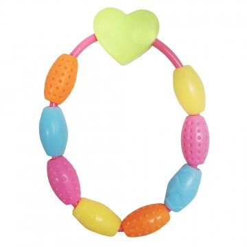 Handee™ Rattle - Heart & Beads