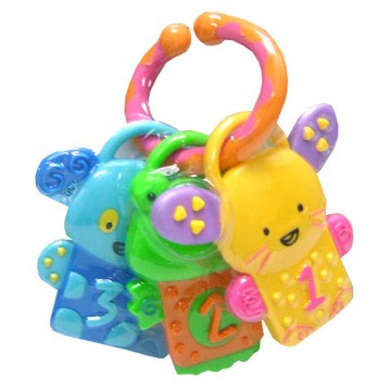 Discovery Pals™ Whizzy™ Rattle Teether - Animal