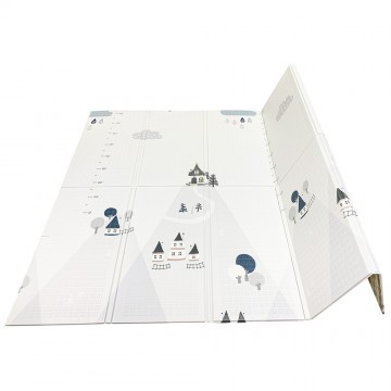 Tell Me A Story™ Educative XPE Dual Foldable Mats - Mountain/ABC (10mm)