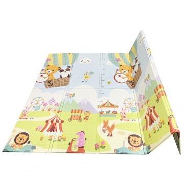 Tell Me A Story™ Educative XPE Dual Foldable Mats - Carnival/ABC (10mm)