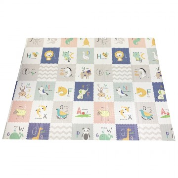 Tell Me A Story™ Educative XPE Dual Foldable Mats - Elephant Forest/ABC (10mm)