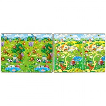 Tell Me A Story™ Educative XPE Mats - Zoo/Farm (20mm)