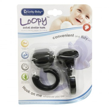 Loopy™ Swivel Stroller Hook - B