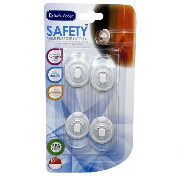 Safety™ Pvc Multi-Purpose Lock 4""