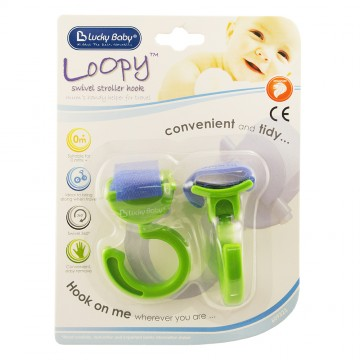 Loopy™ Swivel Stroller Hook - C