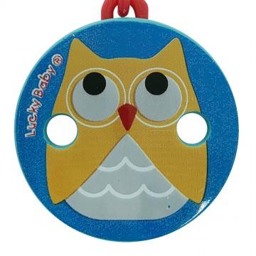 Klipper™ Pacifier Chain - Owl