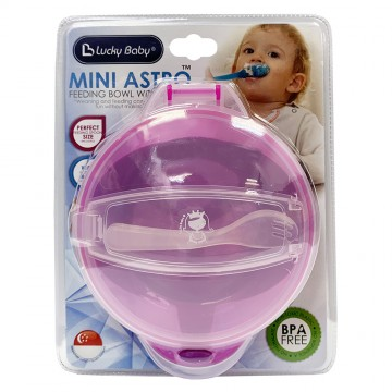 Mini Astro™ Feeding Bowl with Spoon