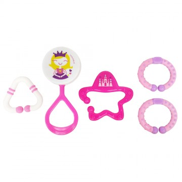 Discovery Pals™ Jiggly™ Rattle Link Set - Princess