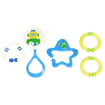Discovery Pals™ Jiggly™ Rattle Link Set - Robot