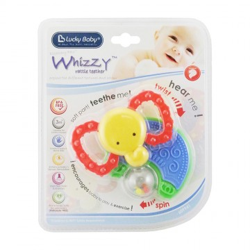 Discovery Pals™ Whizzy™ Rattle Teether - Elephant