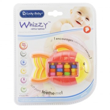 Discovery Pals™ Whizzy™ Rattle Teether - Fish