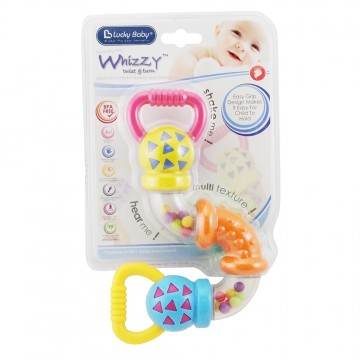 Whizzy™ Twist & Turn Rattle