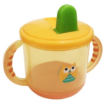 Flip-Flopper™ Spout Cup With Handles (200ml)