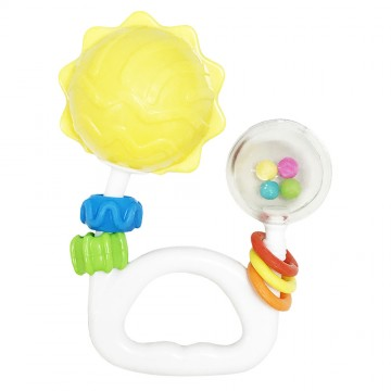 Discovery Pals™ Jiggly™ Rattle - Sun