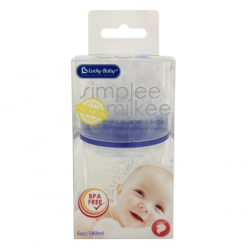 Simplee™ Milkee PP Wide Neck Bottle (140ml)