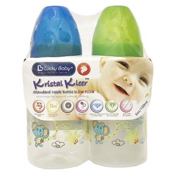 Kristal Kleer™ Standard Neck Bottle - Elephant 120ml (2pcs)