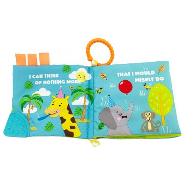 Discovery Pals™ Smartee™ Teether Book - (Animal)