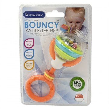 Bouncy™ Rattle & Teether