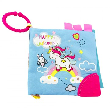 Discovery Pals™ Smartee™ Teether Book - (Unicorn)