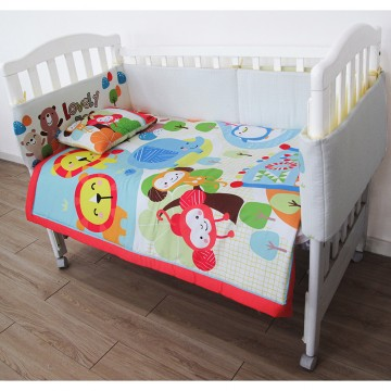 Dreem™ Crib Bedding Set - Lovely Zoo
