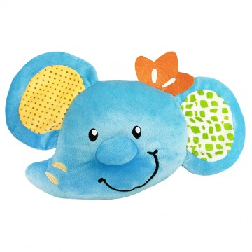 Contour Infant Pillow - Ember Elephant