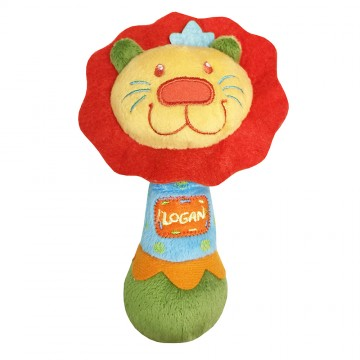 Petit Play™ Soft Rattle Series - Logan Lion