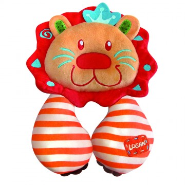 Comfy Travel Pals™ Support Pillow - Lion
