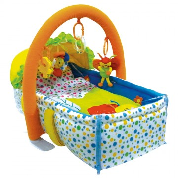Colourful Bug 2 In 1 Moses Basket
