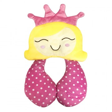 Comfy Travel Pals™ Support Pillow - Princess