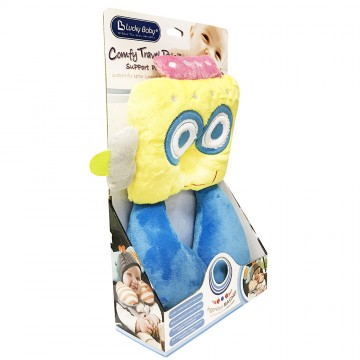 Comfy Travel Pals™ Support Pillow - Owl