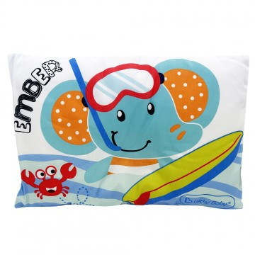 Baby Pillow W/Cover - Surf Ember
