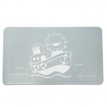 Non-Slip™ Suction Bath Mat Specially For Long Bath/Bathroom - Blue