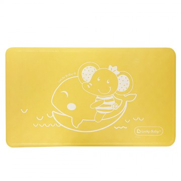 Non-Slip™ Suction Bath Mat Specially For Long Bath/Bathroom - Yellow