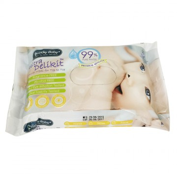 Ultra Delikit™ Natural Wipes for Top to Toe (Single Pkt)