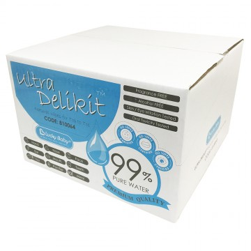 Ultra Delikit™ Natural Wipes for Top to Toe (1 Carton)