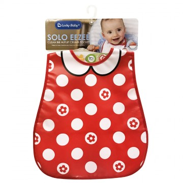 Solo Eezee™ Clean Bib W/Flip Crumb Pocket - Ladies