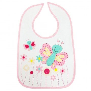 Trio™ 3pcs Fun Bib - Girl