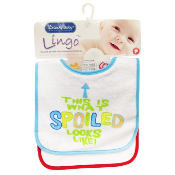 Lingo™ 2pcs Fun Bib - Boy