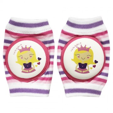 First Soks™ Knee Guard Socks - Princess