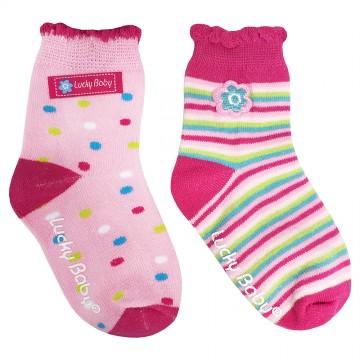 First Soks™ 2 Pairs Tot Socks - Girl
