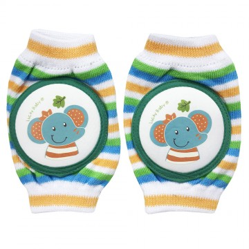 First Soks™ Knee Guard Socks - Elephant