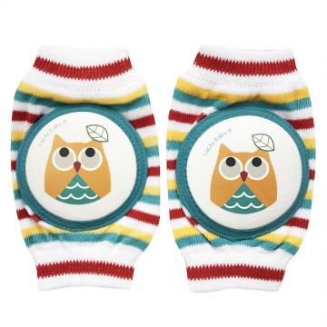 First Soks™ Knee Guard Socks - Owl