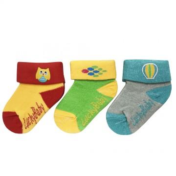 First Soks™ 3 Pairs Baby Socks - Owl