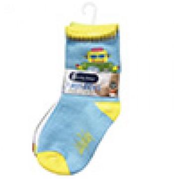 First Soks™ 3 Pairs Tot Socks - Robot