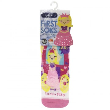 First Soks™ Tot Up Socks - Princess