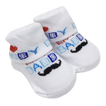 First Soks™ Fold Up Socks - I Love Daddy