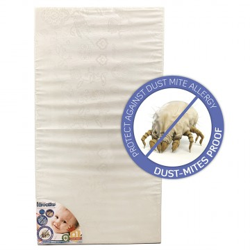 AllerFree™ High Density Anti Dust-Mite Mattress - 24' x 48' x 4'