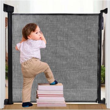 Smart System™ Retractable Gate - Black