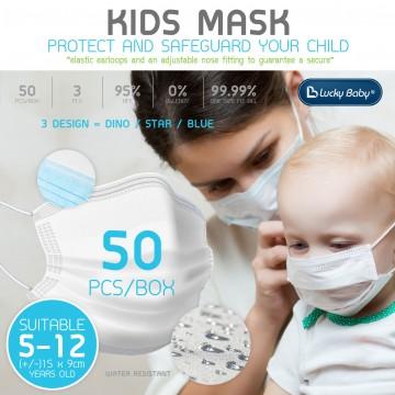 K.Kids Earloop 3Ply Face Mask - 50pcs (3 DESIGN)